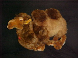 """16"""" Steiff Kamel Two Hump Camel Plush Toy With Tags Number 0405/40 - $148.49"""