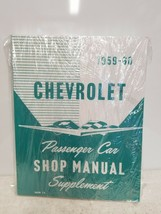Chevrolet - 1959-60 - Passenger Car Shop Manual Supplement - $17.15