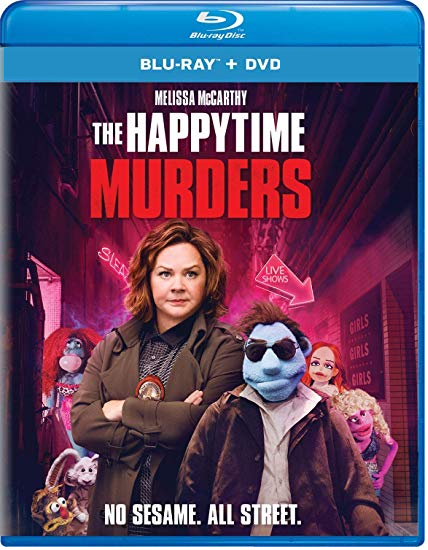 The Happytime Murders [Blu-ray+DVD, 2018]