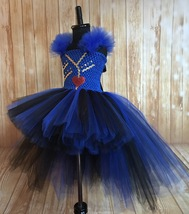 Evie Descendants High Low Tutu Dress, Descendants 2 Costume, Evie Costume Dress - $55.00+