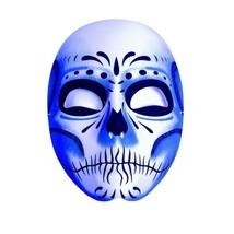 Underwraps Tag der Toten Blau Schatten Sugar Totenkopf Maske Halloween K... - $11.57