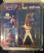 1998 STARTING LINE UP  MARK McGWIRE - EXTENDED SERIES  CARDINALS  ACTION... - $17.96