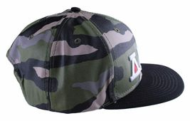 Asphalt Yacht Club Camo Green Black Hunt Snapback Baseball Hat AYC1410920 NWT image 3