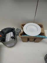 Lithonia Lighting 5in White Gimbal LED Parts - $8.79