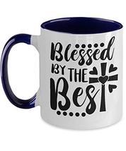 Two Tone Ceramic Coffee Tea Mug -Easter Christian Gifts For Church Elders - $21.73