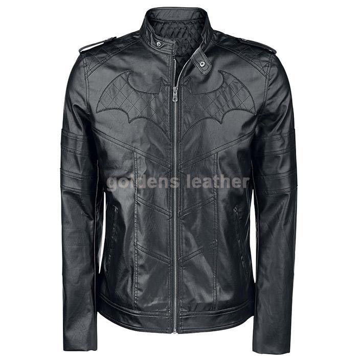 New Men's Stylish Lambskin Genuine Leather Motorcycle Biker Slim Fit Jacket GN15