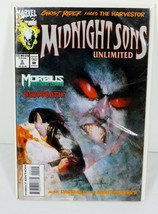 Midnight Sons Unlimited #2 Comic Book with Ghost Rider, Darkhold & Nightstalkers - $2.92