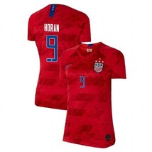 Nike Lindsey Horan 9 Usa 2019 World Cup 4 Star Women's Red Womens Jersey Patch - $89.99