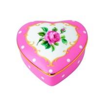 Royal Albert Heart Box, Small, Cheeky Pink - $18.28