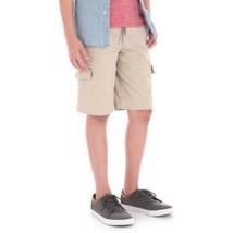 Wrangler Boys Cargo Jogger Shorts Active Flex Buff Color Size X-Small 4-5 New - $13.85
