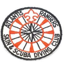 Vintage Atlantis Rangers Skin & Scuba Diving Club Patch BSA ? - $14.80