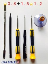 Screwdriver 5 Point Pentalobe 0.8 1.2 1.5mm Repair Kit set Pry Tools USA - $10.88