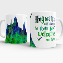 Hogwarts art mug with quote Harry Potter Inspired ceramic coffee tea cup - €10,52 EUR