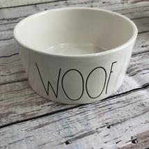 "NEW! Rae Dunn ""WOOF"" Dog Bowl - $19.39"