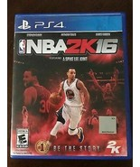 NBA 2K16 PlayStation 4 PS4 - Disc and case artwork - $6.81