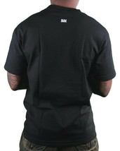 In4mation Fu$k Yourself Flipping Middle Finger Skateboard Men's Black T-Shirt NW image 2