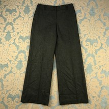 Ann Taylor LOFT Womens Sz 6 Tweed Dress Pants Lined Cuffed Wool Trousers... - $12.40