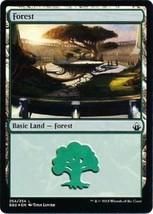 MTG Forest 254/254 Battlebond FOIL Land Magic the Gathering NM/M - $1.15