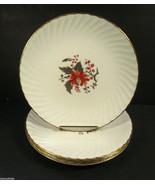 "Set of 4 Royal Worcester LYNBROOK 8"" Salad Plates 1964 Fine Bone China E... - $11.24"