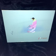Vtg Original Indian Choctaw Tempera Painting Alone Signed Dated Doug May... - $272.25