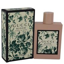 Gucci Bloom Acqua Di Fiori Perfume 3.3 Oz Eau De Toilette Spray image 1