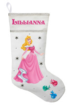 Sleeping Beauty Christmas Stocking - Personalized and Hand Made Aurora S... - $29.99