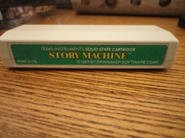 TI 99/4A Story Machine rare educational word game cartridge software Spi... - $7.99