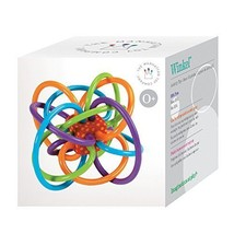 Baby Toy Winkel Rattle and Sensory Teether Toy Manhattan - $25.24