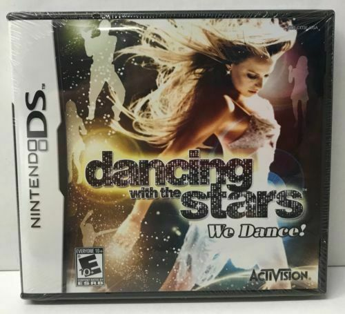Dancing With the Stars: We Dance (Nintendo DS, 2008) DS NEW