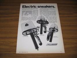 1970 Print Ad Pflueger M5, M15, M30 Sneaker Electric Fishing Motors - $10.72