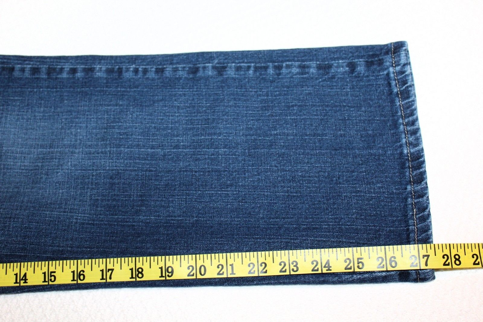 """LEE """"At the Waist"""" Women's 12 P Petite Relaxed Straight Leg Jeans 27"""" Inseam EUC"""