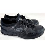SKECHERS WORK RELAXED FIT WOMEN'S 8.5 SHOES SN 76551 BLACK FREE SHIPPING! - $34.99