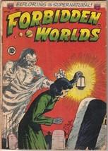 Forbidden Worlds Comic Book #10, ACG 1952 GOOD- - $25.08