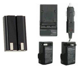 EN-EL1 Battery + Charger for Nikon CoolPix 880 885 995 4300 4500 4800 5700 8700 - $21.55