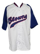 Hank Aaron Indianapolis Clowns Negro League Baseball Jersey White Any Size image 1