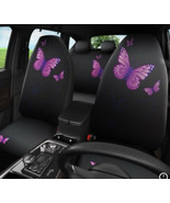 Car Seat Cover Butterfly Automobile Facebook Universal fit Split Bench - $38.61