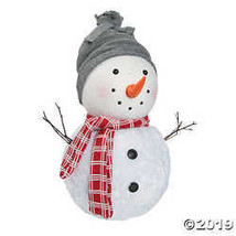 Plush Holiday Snowman - $27.49