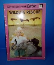SPRING SALE!!! Barbie Wildlife Adventures Rescue Book Vintage 1991 - $7.60