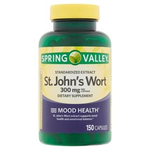 Spring Valley St. John's Wort Capsules, 300 mg, 150 counT. - $16.82