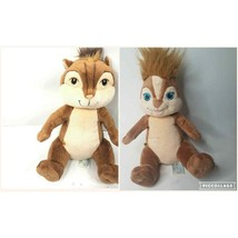 "Build A Bear Lot 2 Alvin & The Chipmunks 17"" cartoon movie classic collectible - $29.95"