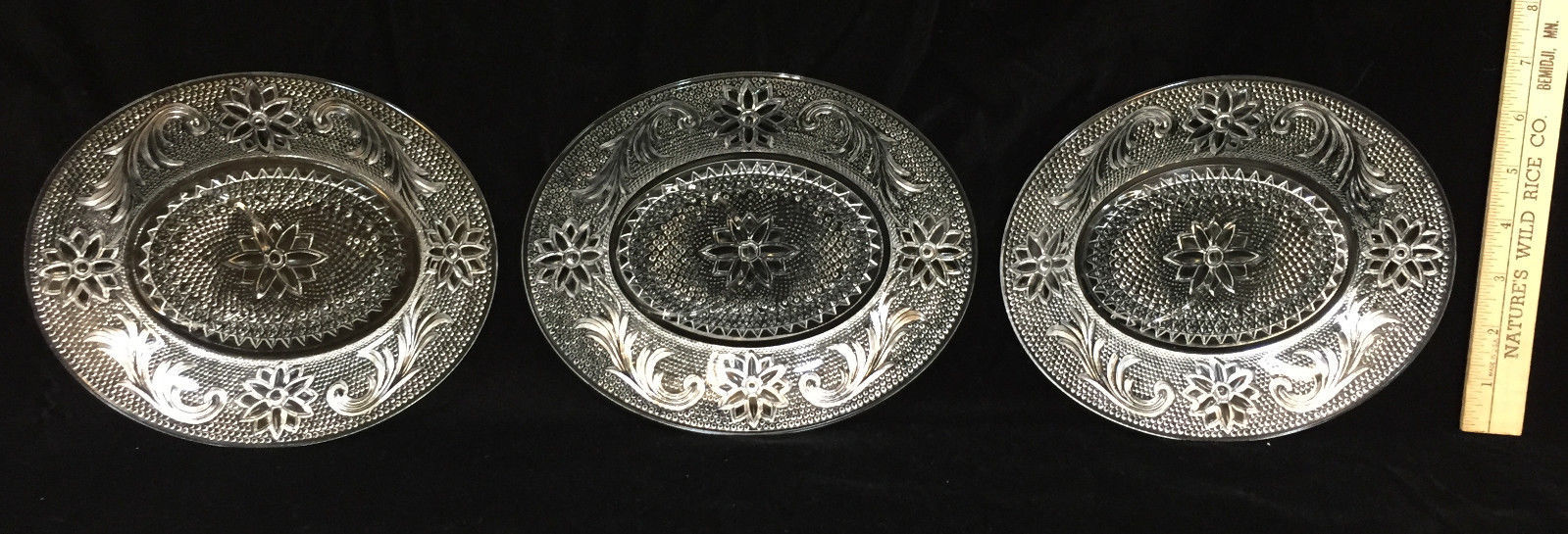 Indiana Glass Snack Tray Plates & Cups Tiara and 50 similar items
