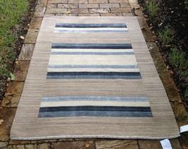 "Indian Contemporary Handmade Wool Rug   8' 2"" X 10' - $808.83"