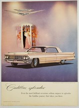 1962 Print Ad Cadillac Coupe de Ville 2-Door Cars Splendor - $10.86