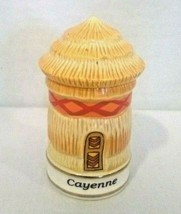 Danbury Mint Spices of the World Cayenne African Hut - $14.70