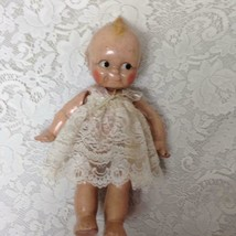 1930s Rose Oneil Kewpie, 12.5-inch Composition Doll In Lace Outfit - $132.95