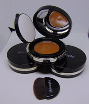Lot of 3 PHILOSOPHY DIVINE Cream-to-Satin Foundation Spf 25  Deep 0.5oz/... - $17.34