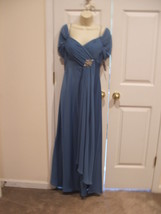 NWT  $239 ALEX EVENINGS OPFF SHOULDER BRIDESMAID FORMAL OCASSION GOWN SI... - $90.08