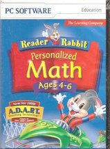 Reader Rabbit Personalized Math (Ages 4-6) 2000 [CD-ROM]