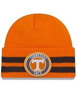 NCAA Tennessee Volunteers 2 Striped Remix Cuff Knit Beanie, Orange, One ... - $12.95