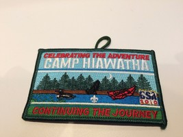 Camp Hiawatha 2010 patch BSA boy scouts of america celebrating the adven... - $4.94